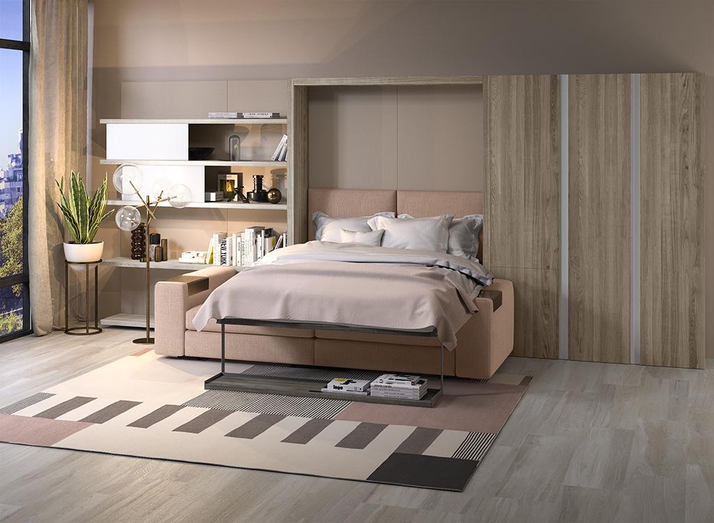 探戈201-沙发隐形床2