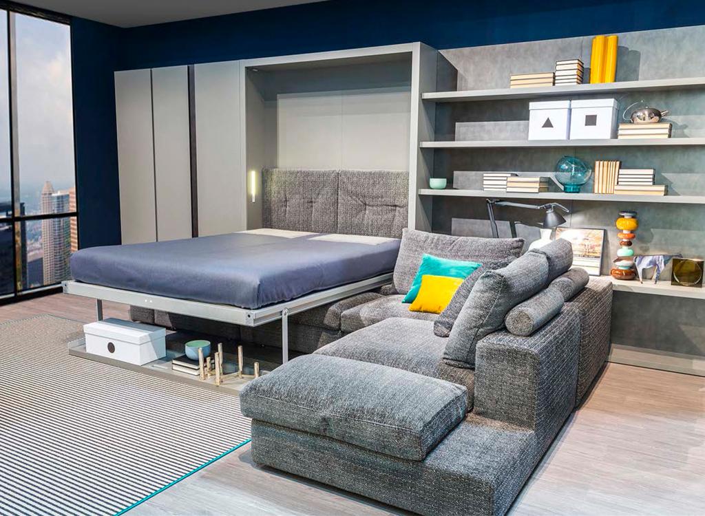 探戈502-沙发隐形床2